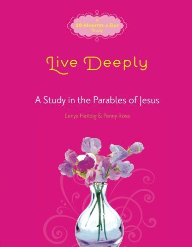 """Live Deeply: A Study of Parables of Jesus (Fresh Life Series):   <DIV><P>Ever read one of Jesus' parables and ask, """"What is He talking about?"""" If so, you're not alone. Jesus' own disciples were also perplexed by the enigmatic stories Christ told.</P><P>Now you—alone or with your small group—can dig deeper into the meaning of these parables to uncover their important meaning for your walk with Christ. Designed with today's busy woman in mind, each lesson can be completed in as little as..."""