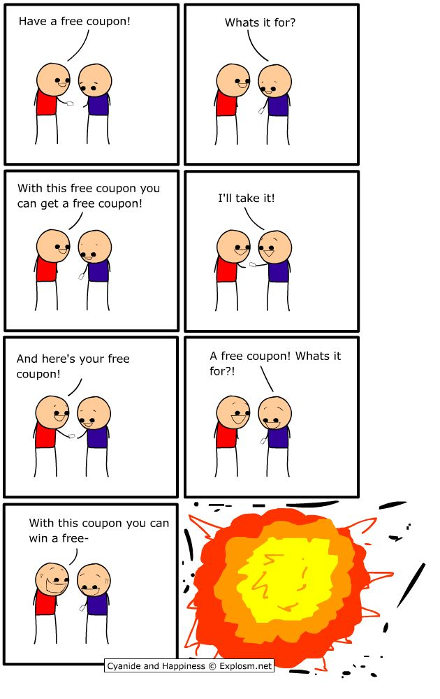 Cyanide and Happiness - Free Coupon