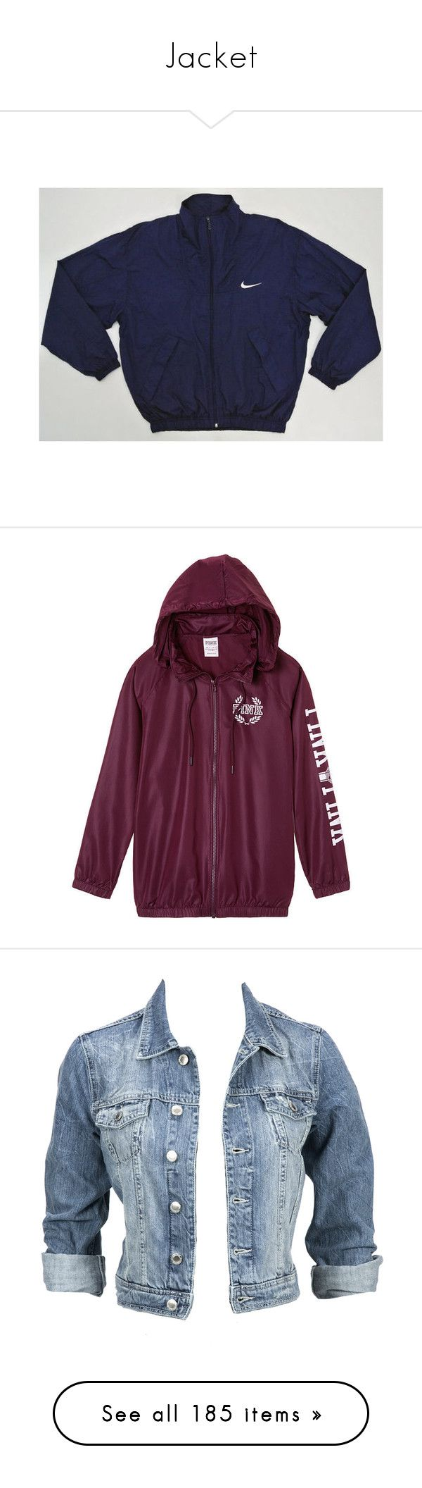 """""""Jacket"""" by kamail ❤ liked on Polyvore featuring men's fashion, men's clothing, men's activewear, men's activewear jackets, jackets, outerwear, tops, shirts, blue jackets and victoria's secret"""