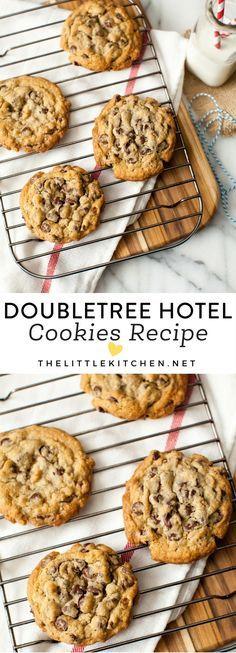 DoubleTree Hotel Chocolate Chip Cookies thelittlekitchen.net