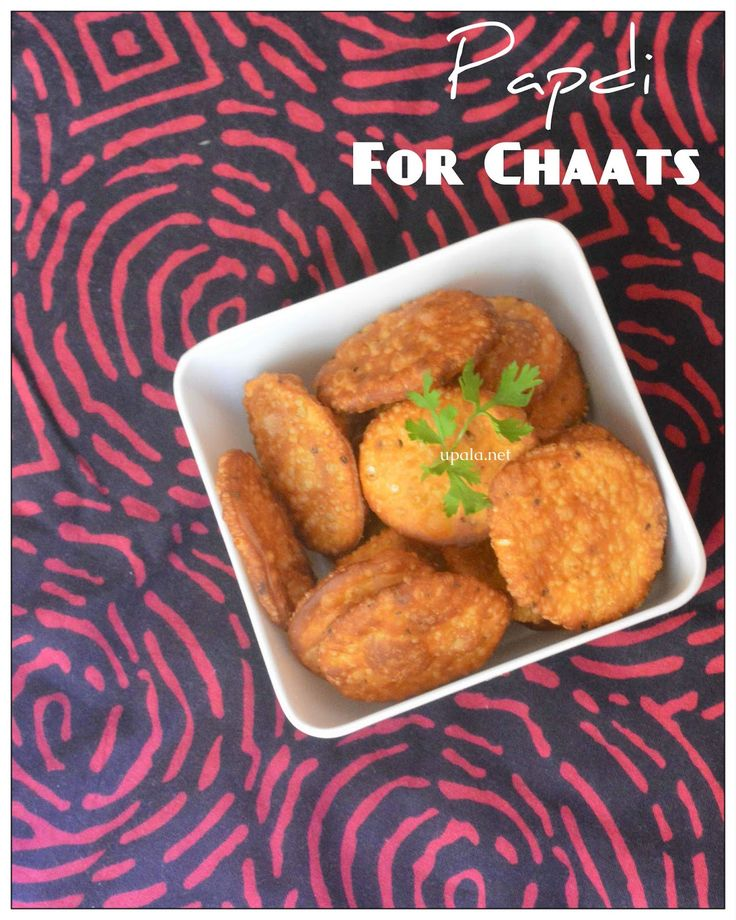 Papdi for Chaats http://www.upala.net/2015/04/papdi-for-chaats.html