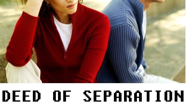 Considering A Deed Of Separation