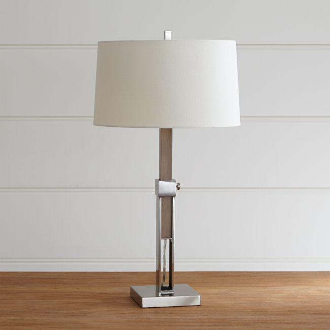 Denley Nickel Table Lamp Nickel Table Lamps Table Lamp Lamp
