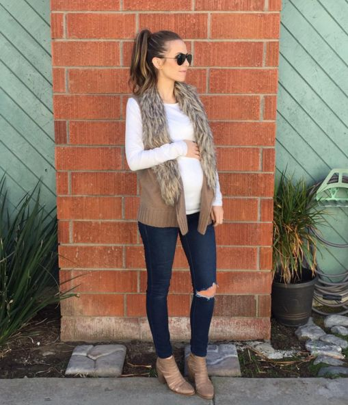 PS I Adore You: Winter pregnancy style inspiration