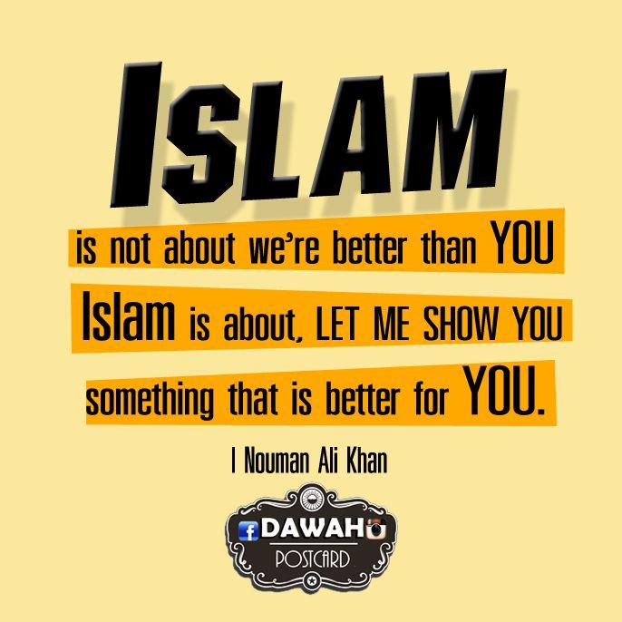 Let me tell sth .. Nouman Ali Khan