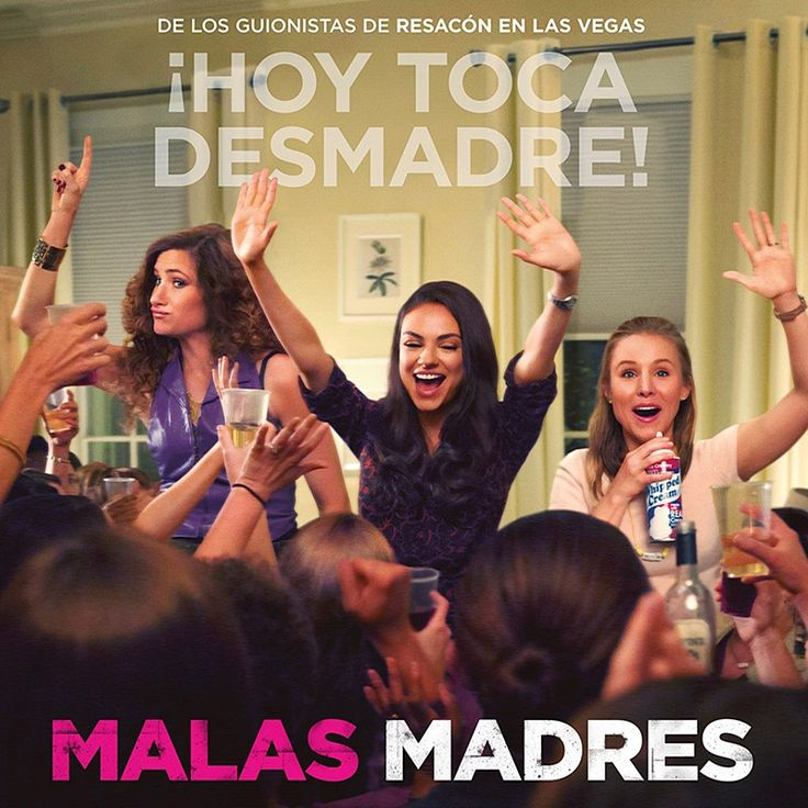 Bad Moms – Subtitulada al Español Película Completa gratis en Calidad Full HD
