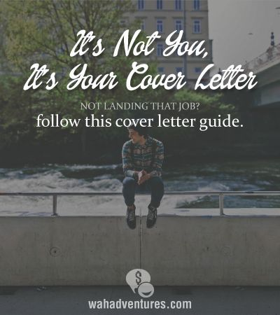 The right way to do a cover letter! #coverletters #careers  Want to travel the world and get your dream job? We can help http://recruitingforgood.com/