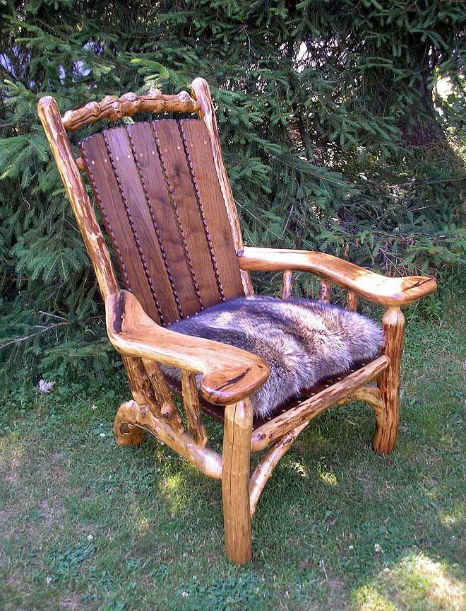 Rustic Adirondack Chairs