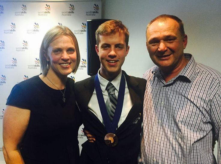 SWSi's Matt Cleave nabs bronze medal in the Worldskills Australia refrigeration competition https://swsi.tafensw.edu.au/About-SWSi/News/Archives/Archives/TAFE-SWSi-%E2%80%98FRIDGIE%E2%80%99-AWARDED-A-BRONZE-MEDAL