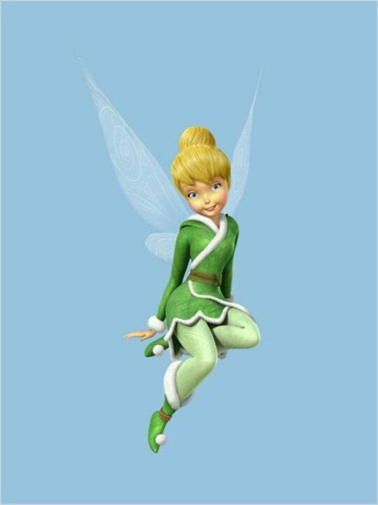 tinkerbell, do  you know the secret of the wings???