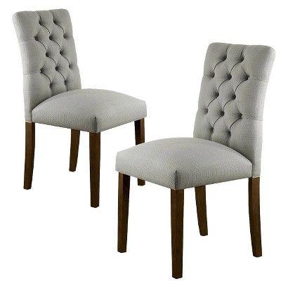 Target ThresholdTM Brookline Tufted Dining Chair