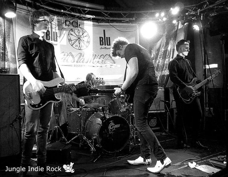 Singapore Sling. VillaManuela Festival, Madrid, Spain. Oct 12, 2013. Photography by Mar, Jungle Indie Rock