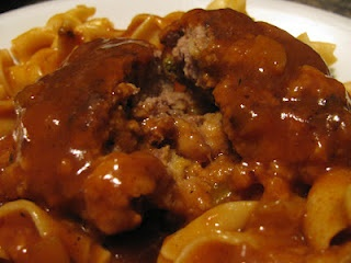 Polish meatballs – an old family recipe..with a twist! (ground beef patties stud…