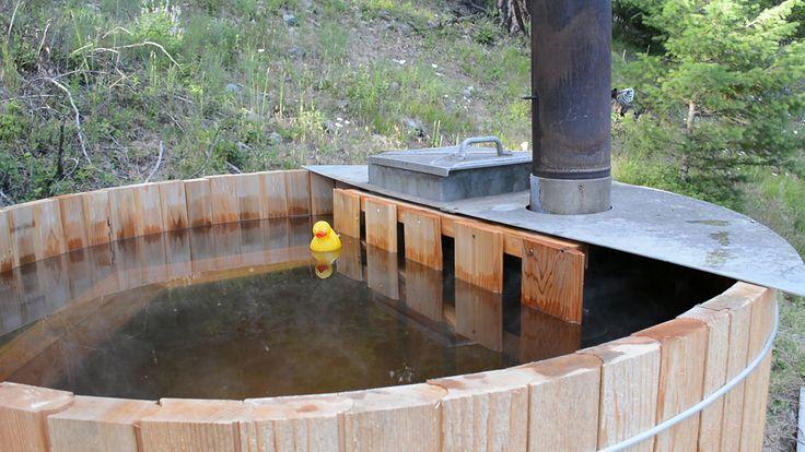 Build a rustic cedar hot tub for under 1000 make