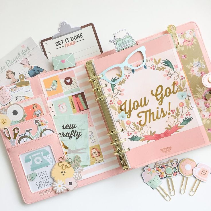 Pretty planner set up | Planner inspiration | Kikki K set ups
