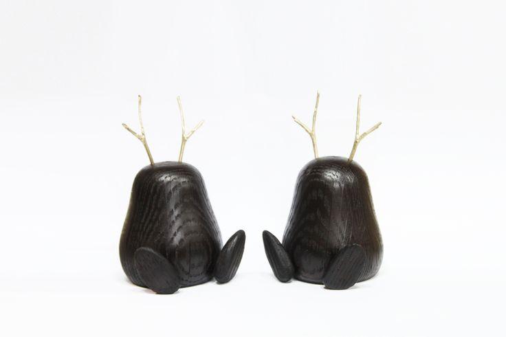 smoke oak wood toy design by halomoon
