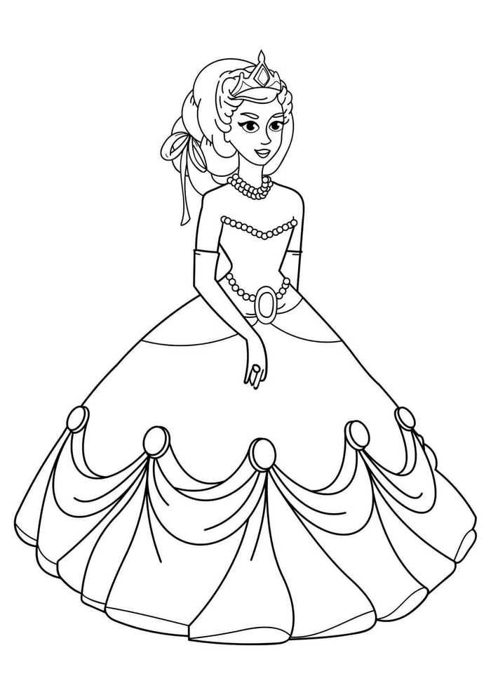 Coloring Book Pages For Girls