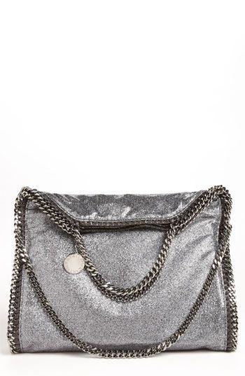 Stella McCartney  Falabella  Metallic Foldover Tote available at  Nordstrom   StellaMcCartney sFalabellaPurses 94b678dee1d01