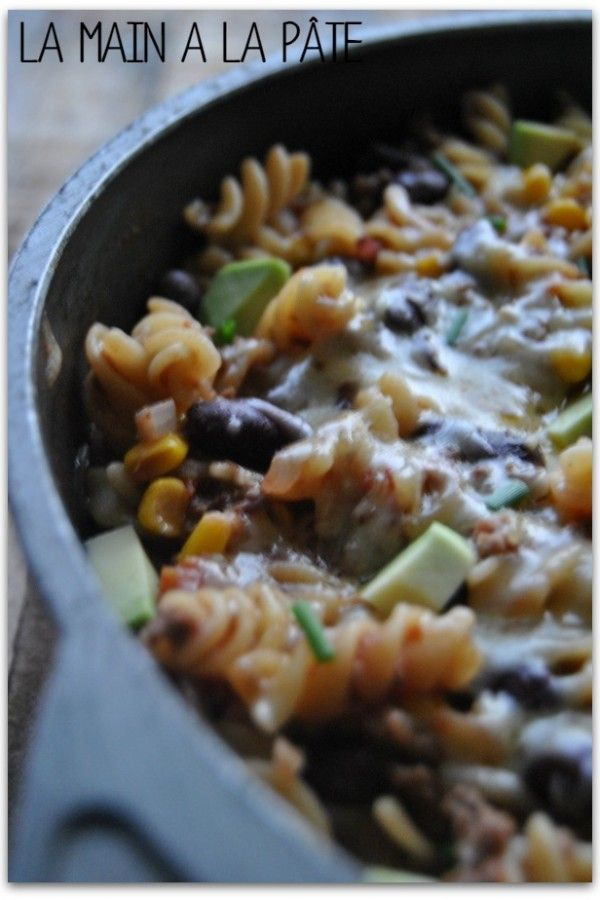 One pot pasta version mexicaine