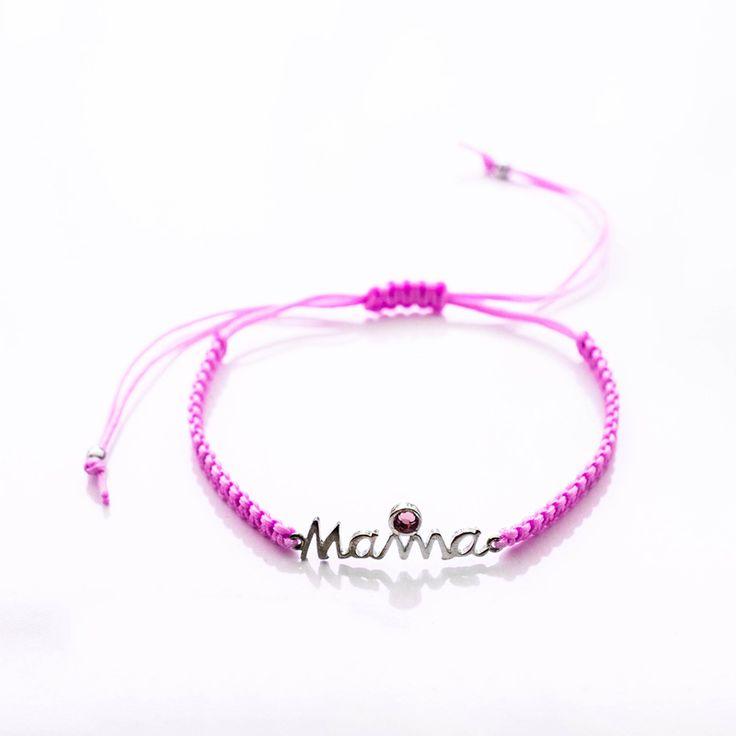 #Purple #Mama.. #Handmade #macrame #bracelet.. #Χειροποιητο #ασημενιο #βραχιολι με #μωβ #μακραμε #κορδονι Shop Online ➡ http://goo.gl/ldAXNv