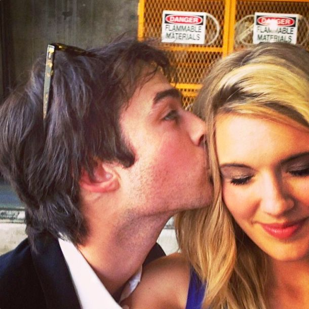 Maggie Grace Shares Pictures of Love-Filled Reunion With Ex-Boyfriend, Lost Costar Ian Somerhalder