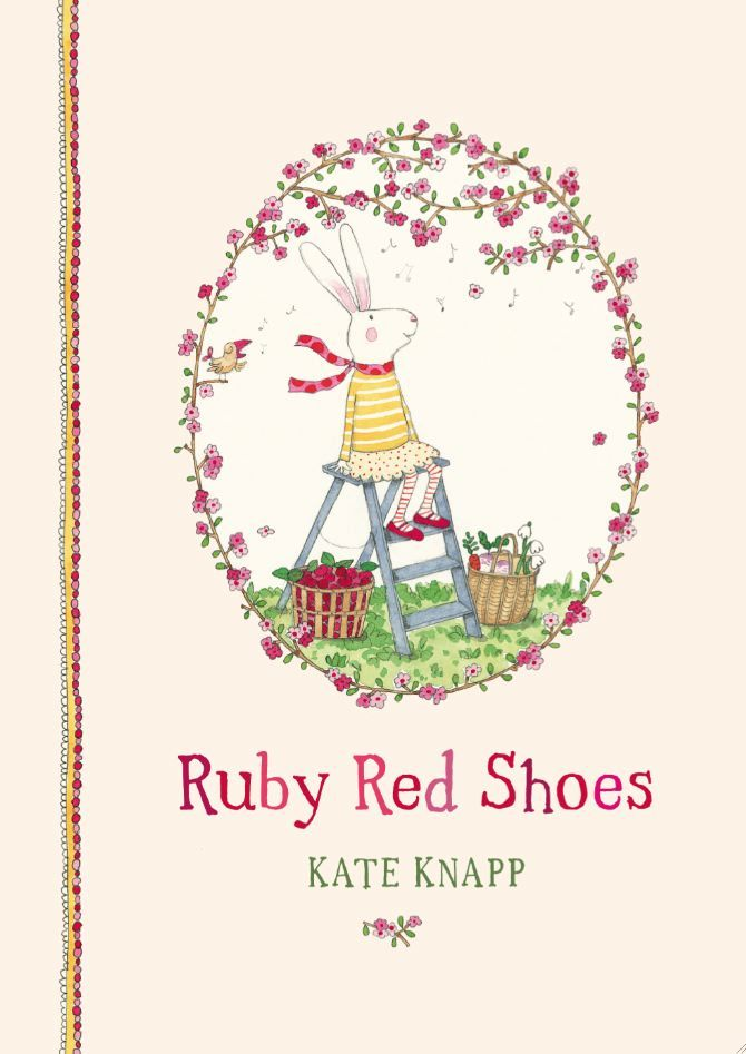 This is Kate Knapp's first picture book in the Ruby Red Shoes series.Hard cover, 48 pages, 238 x 172 x 13 mmRuby Red Shoes lives in a colourful caravan with her grandmother. Ruby is gentle and kind and cares for all living things, including plants and trees, animals and people.Ruby is also particularly fond of strawberry jam and peppermint tea.Ages: 4