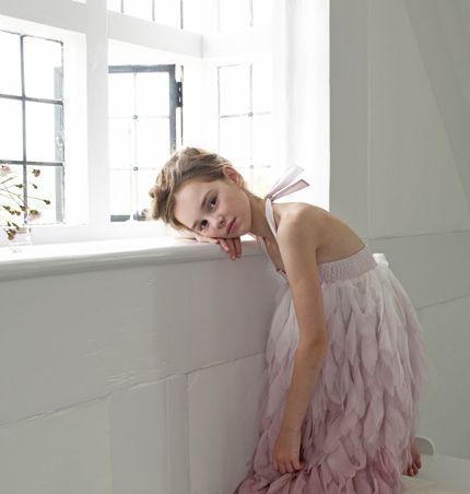 Feather dress - Damselfy
