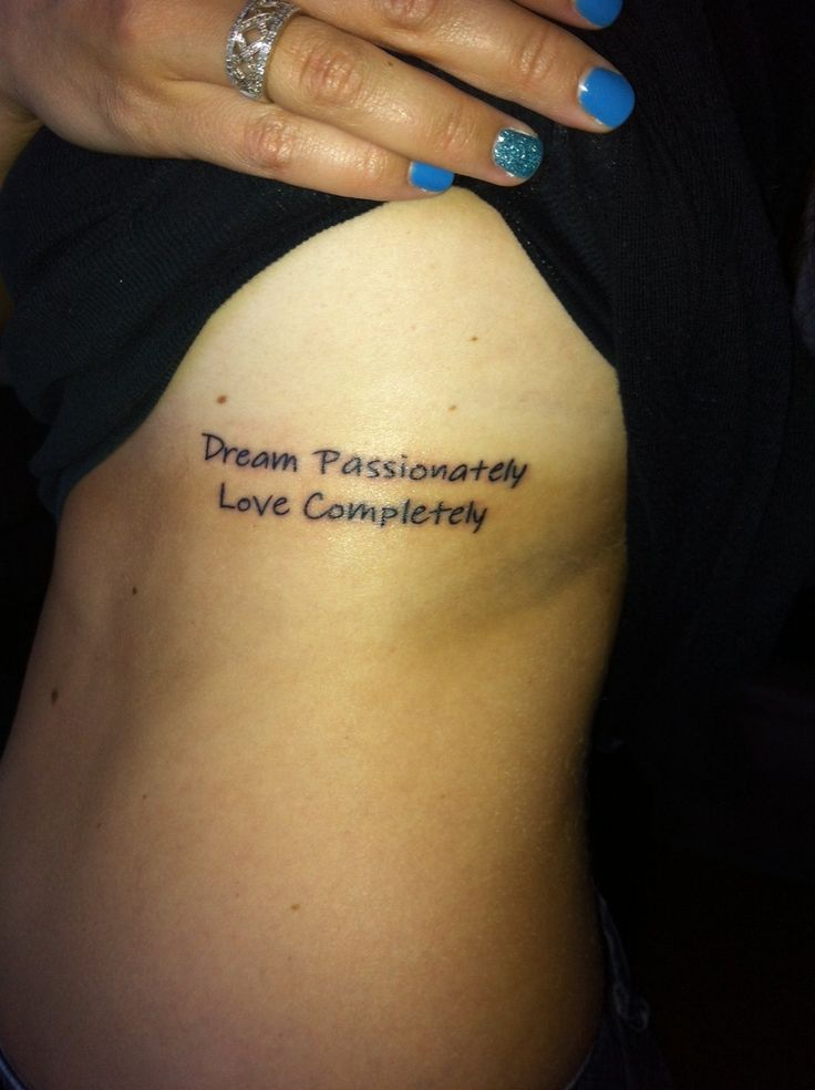 Awesome Tattoo Quotes For Girls - http://www.hdtattoodesign.com/awesome-tattoo-quotes-for-girls/