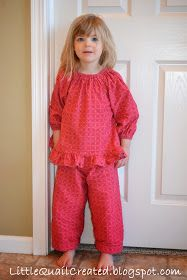 The cutest little jammies  Little Quail: Winter Pajama's