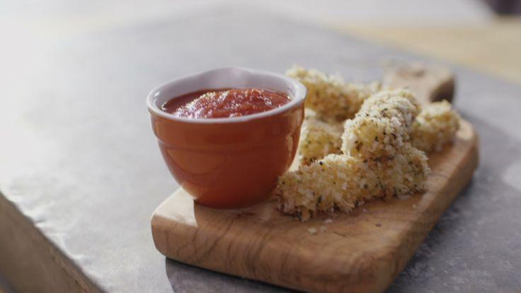 Bâtonnets de fromage panés | Cuisine futée, parents pressés
