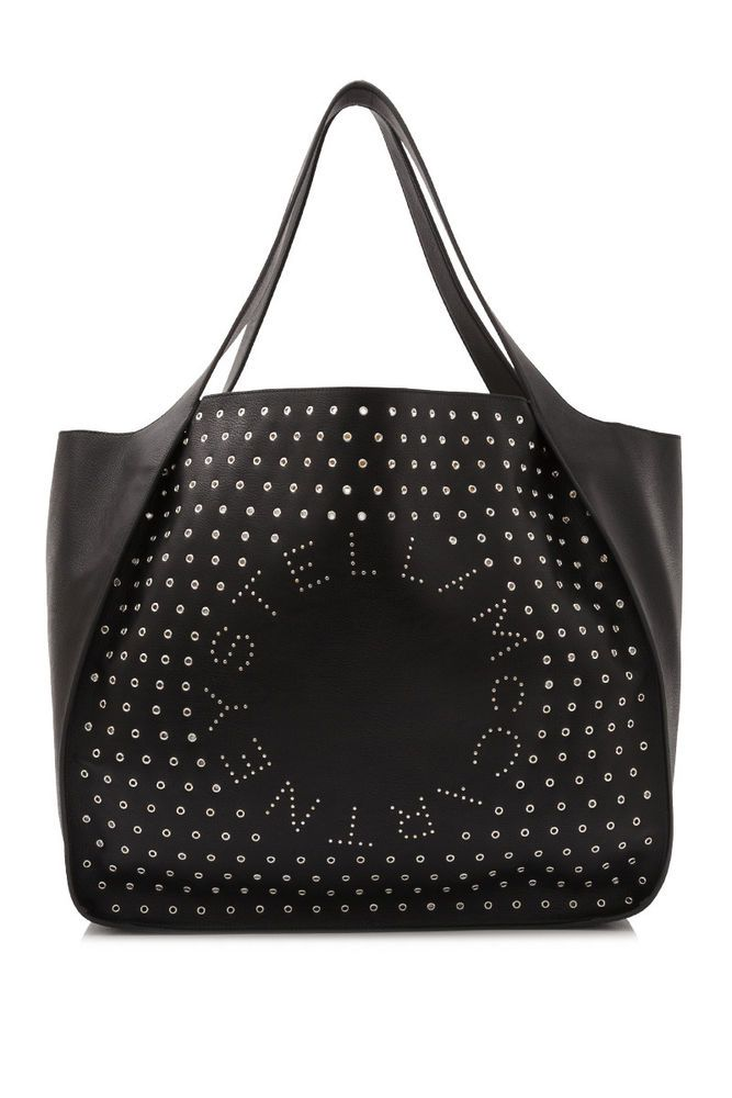 d7cc5c50e99b Stella McCartney Stella Logo East West Tote Bag (Black  alter-nappa  leather)  fashion  clothing  shoes  accessories  womensbagshandbags (ebay  link)