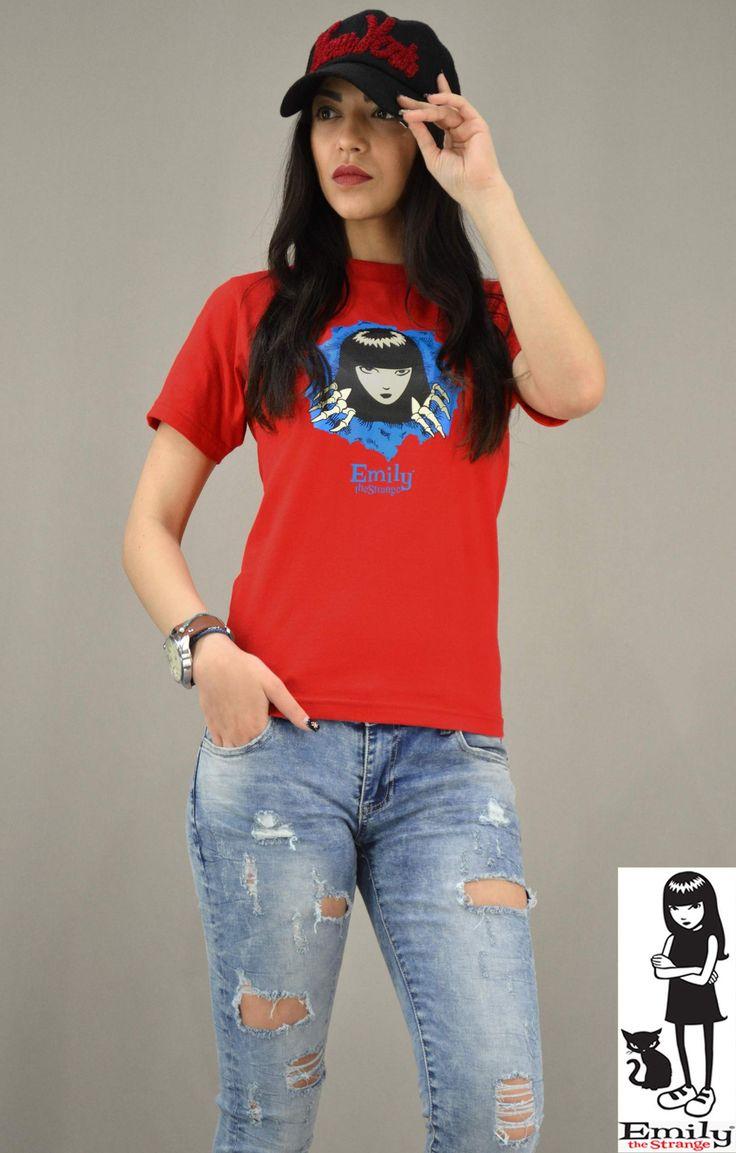 Γυναικείο t-shirt Emily the Strange MPLU-0829-Hrd | T-shirts >