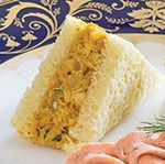 Originally created for Queen Elizabeth II's coronation in 1953, Coronation Chicken Salad is still popular today.