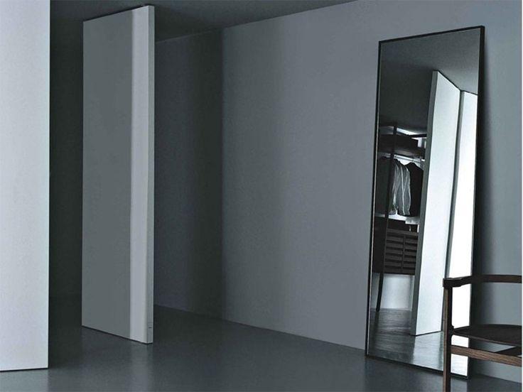 Freistehender rechteckiger Spiegel   Porro