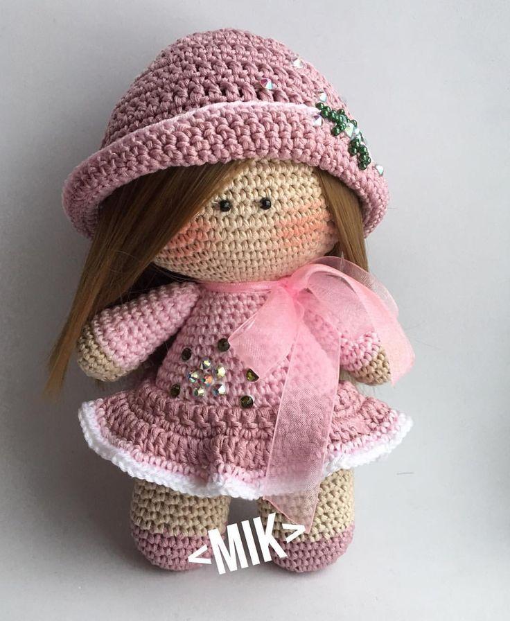 Принцесса #назаказ ______________________ #амигуруминазаказ#амигуруми#куколка#пупс#длядетей#моиклиентысамыелучшие