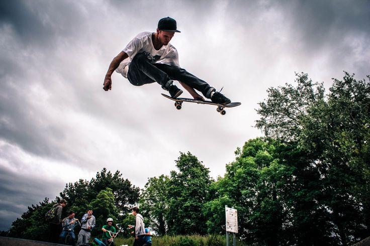 Skating @ Barnstaple by Jack Levick