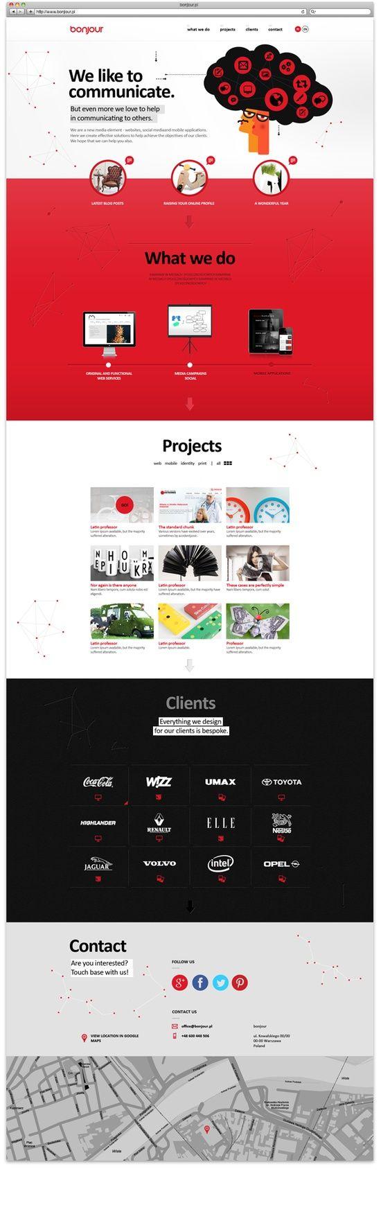 Beautiful #webdesigns