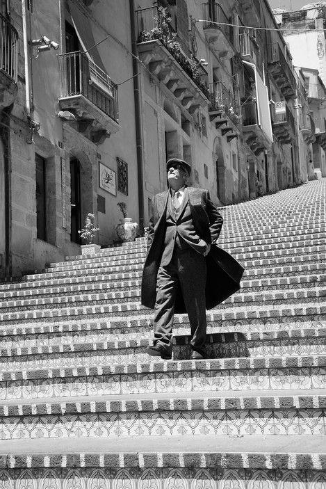 Ferdinando Scianna ITALY, Sicily, Caltagirone, fashion story for VOGUE France #lsicilia #sicily #caltagirone