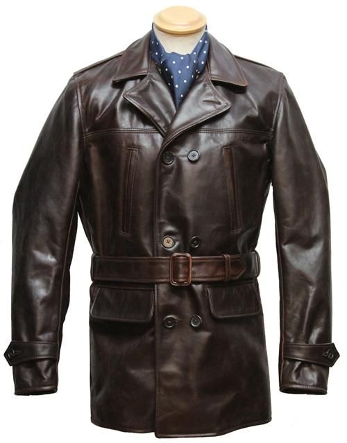 Barnstormer leather jacket