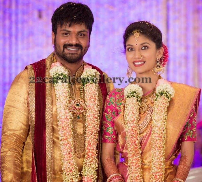 Jewellery Designs: Actor Manchu Manoj Engagement