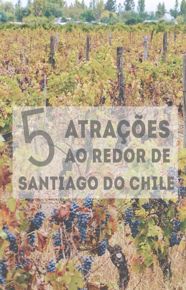 Santiago do Chile é uma cidade repleta de atrações, mas é possível realizar inúmeros passeios pela região. Aqui listamos 5 dicas de lugares para conhecer ao redor da capital do Chile.........