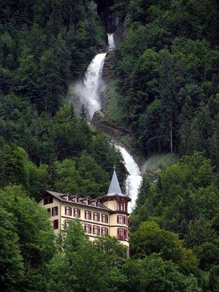 Giessbach Switzerland - The Amazing Fall -Most beautiful waterfall in the Alps.