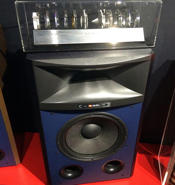 JBL 4367 Studio Monitor Loudspeaker - Exploded Driver Display