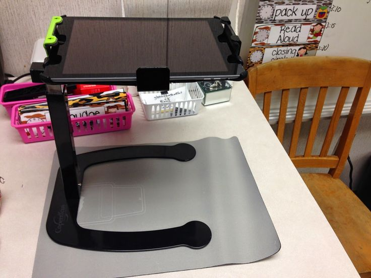 Using an iPad as a document camera... genius!