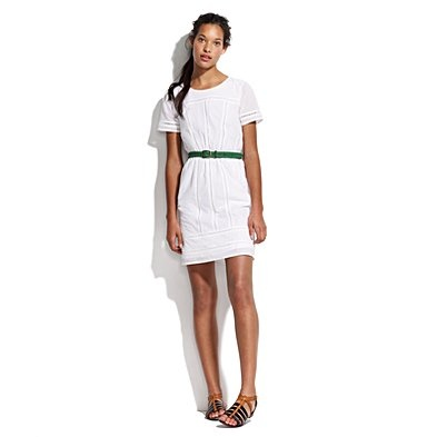 Sunstroll Dress in Crisp White