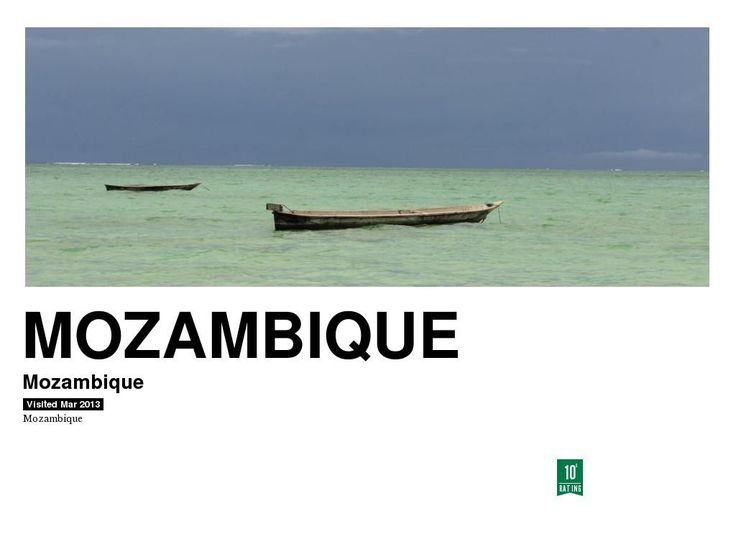 Mozambique by Thommo Hart