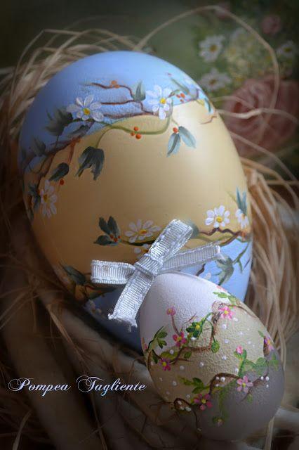 Le creazioni di Pompea: UovaCountry Si avvicina la Pasqua, non po...
