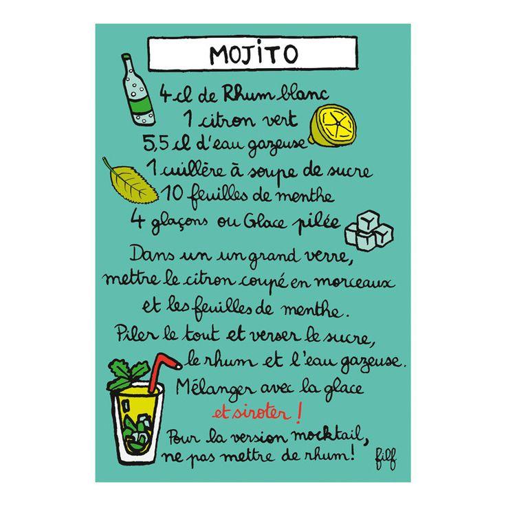 Aimant mojito - DLP - Filf