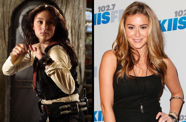 Alexa Vega (Carmen from Spy Kids)