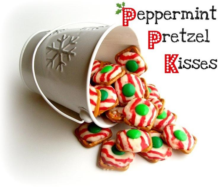 Peppermint Plum: {Peppermint Pretzel Kisses}